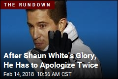 After Shaun White's Glory, He Has to Apologize Twice