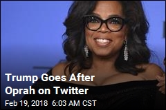 Trump Goes After Oprah on Twitter