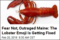 After Maine Objects, Lobster Emoji Getting 2 More Legs