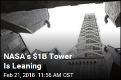 NASA's $1B Tower Is Leaning