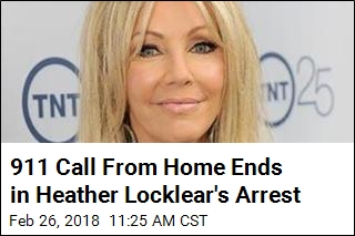 'Combative' Heather Locklear Arrested for Domestic Violence