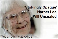 'Strikingly Opaque' Harper Lee Will Unsealed