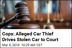 Guess How This Alleged Car Thief Got to Court