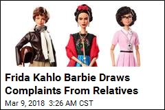 Relatives Complain About Frida Kahlo Barbie