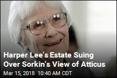Harper Lee's Estate Suing Over Sorkin's View of Atticus