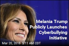 Melania to Hold First Public Forum on Online Bullying