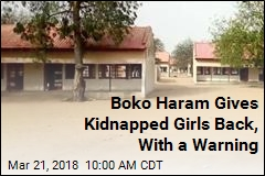 Boko Haram Gives Kidnapped Girls Back, With a Warning