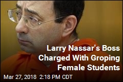 Larry Nassar's Boss Hit With His Own Sexual Abuse Charges