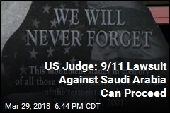 US Judge Won't Toss 9/11 Lawsuit Against Saudi Arabia
