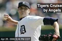 Tigers Cruise by Angels