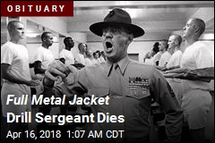 Full Metal Jacket Drill Sergeant Dies