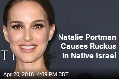 Natalie Portman Causes Ruckus in Native Israel