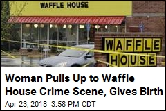 Baby Born in Car at Waffle House—Hours After Shooting