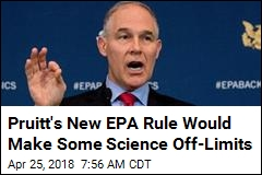 985 Scientists Write to Pruitt to Advise Against New Rule