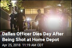 Dallas Officer Dies Day After Being Shot at Home Depot
