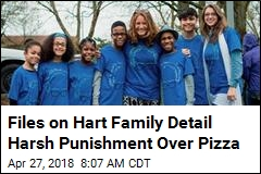 Hart Family Girl Received Bruising Spanking Over Penny