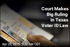 Court Upholds Texas Law in Another Big Voter ID Ruling