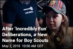 With Girls Joining the Ranks, Boy Scouts Get a Name Change