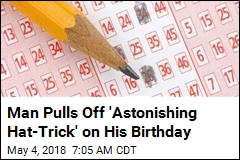 Man Pulls Off 'Astonishing Hat-Trick' on His Birthday