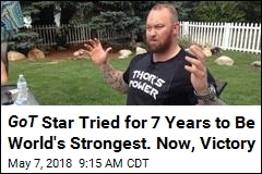 GoT Star Tried for 7 Years to Be World's Strongest. Now, Victory