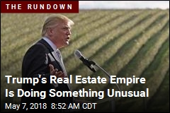 Trump's Real Estate Empire Is Doing Something Unsual