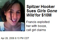 Spitzer Hooker Sues Girls Gone Wild for $10M