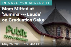 Mom Accuses Publix of Censoring Graduation Cake