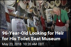 'King of the Commode' Seeks Heir to His Thrones