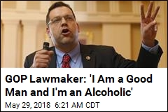 'I'm an Alcoholic': Congressman Won't Run for Re-Election