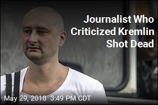 Russian Journalist Shot, Killed at His Ukraine Home
