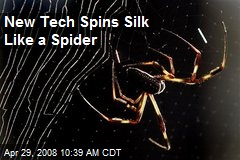 New Tech Spins Silk Like a Spider