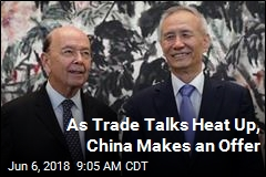 As Trade Talks Heat Up, an 'Olive Branch' From China