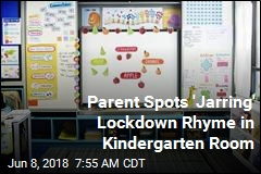 Kindergarten's Rhyming Lockdown Poster Shocks