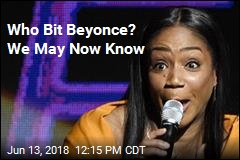 Tiffany Haddish Appears to Reveal Who Bit Beyonce