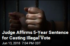 Woman Who Got 5 Years for Voting While a Felon Loses Bid
