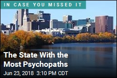 States With Most, Least Psychopaths