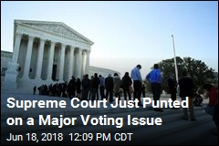 Supreme Court Just Punted on a Major Voting Issue