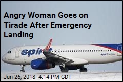 Angry Woman Goes on Tirade After Emergency Landing