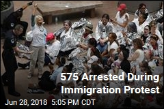 575 Arrested During Immigration Protest