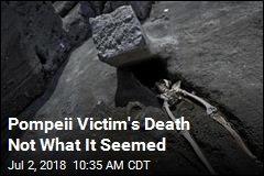 Pompeii Victim's Death Not What It Seemed