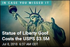 Stamp Featured Wrong Statue of Liberty, and USPS Owes $3.5M