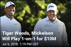 Coming Soon: $10M Tiger Woods, Phil Mickelson 'Death Match'