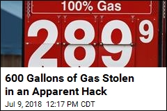 Hackers Apparently Steal 600 Gallons of Gas