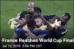 France Reaches World Cup Final