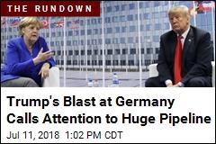 After Rough Words, Trump, Merkel Make Nice