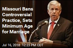 15? You Can No Longer Marry in Missouri