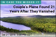 Couple's Plane Found 21 Years After They Vanished