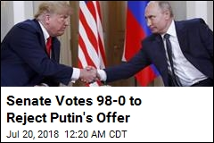 Senate Votes 98-0 to Reject Putin's Offer