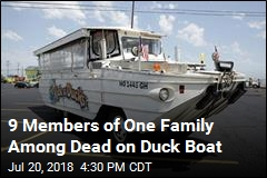 9 Members of One Family Among Dead on Duck Boat