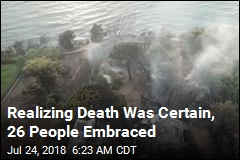 Realizing Death Was Certain, 26 People Embraced